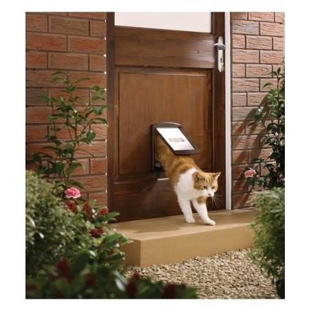 Kutya és macska ajtón Staywell 730, Barna S