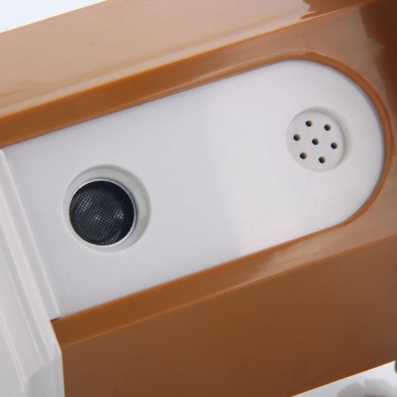 Kültéri ultrahangos ugatásgátló házikó CSB10