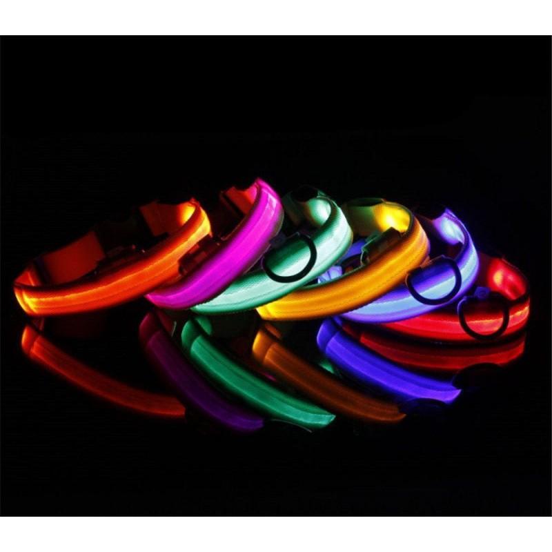 LED-es világító nyakörv