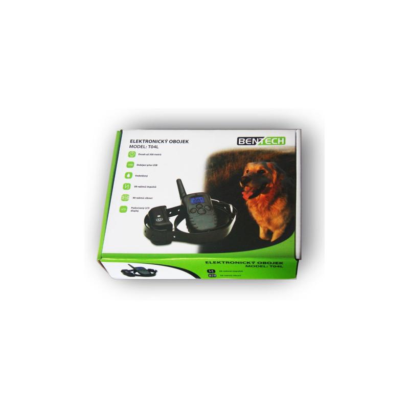 Elektromos kutyakiképző nyakörv BENTECH T04L