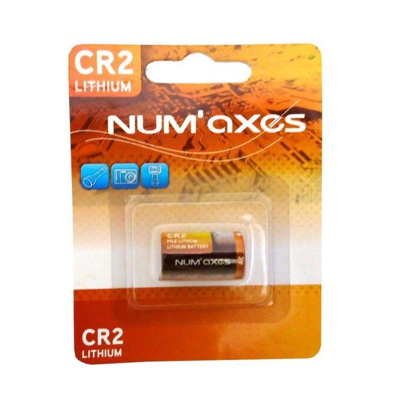 Líthium elem NumAxes 3V-os CR2